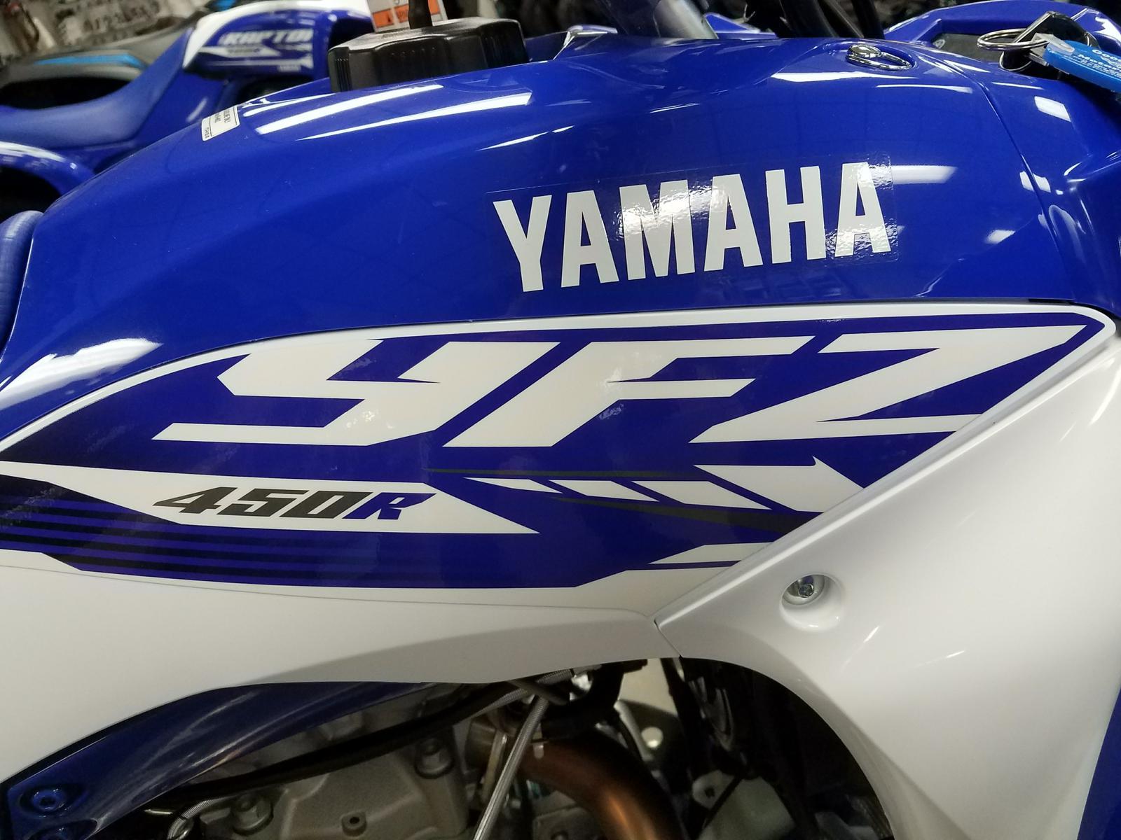 2018 Yamaha YFZ-450R