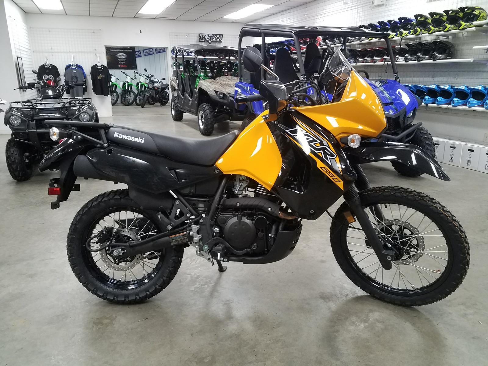 2018 Kawasaki KLR650 Yellow