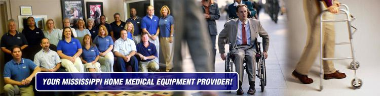Your Mississippi Home Medical Equipment Provider!