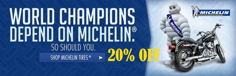 Michelin Tires 20% Off