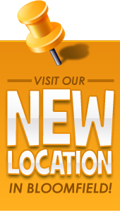 Visit our new location in Bloomfield!