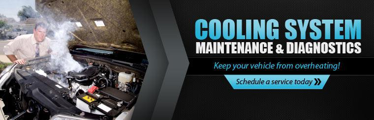 Cooling System Maintenance & Diagnostics: Keep your vehicle from overheating! Click here to schedule a service today.