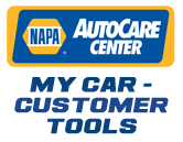 NAPA AutoCare Center My Car - Customer Tools