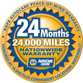 NAPA AutoCare Peace-of-Mind Warranty