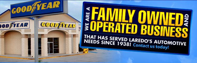 We are a family owned and operated business that has served Laredo's automotive needs since 1938! Click here to contact us.