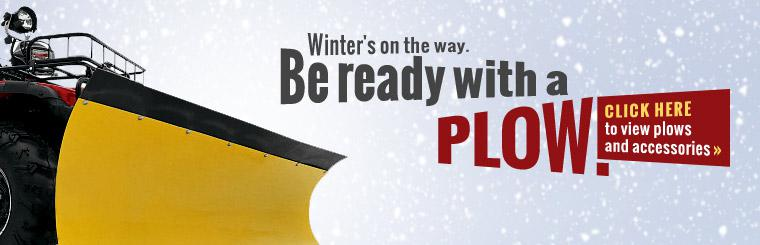 Click here to view plows and accessories.