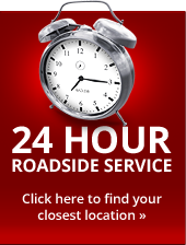 24-Hour Roadside Service
