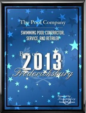 2013 best of Fredericksburg Award.JPG