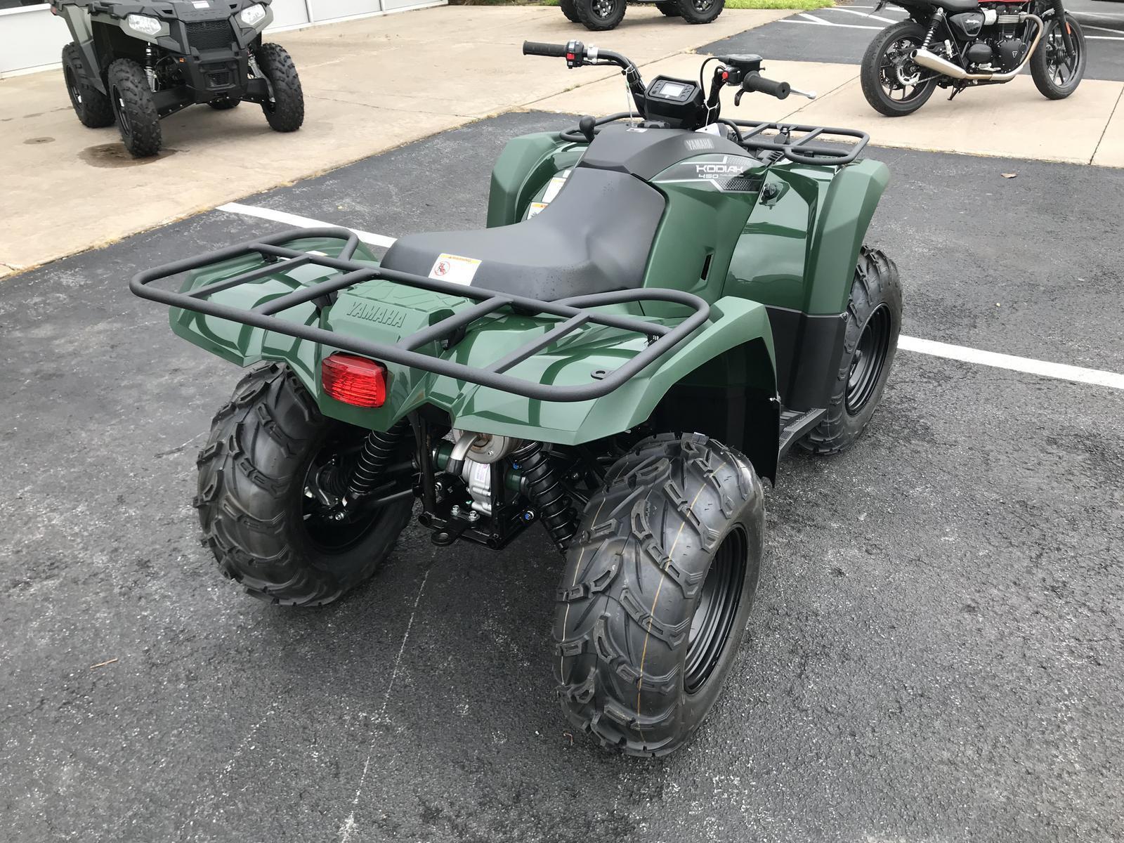 2019 Yamaha Kodiak 450 EPS 4WD Green