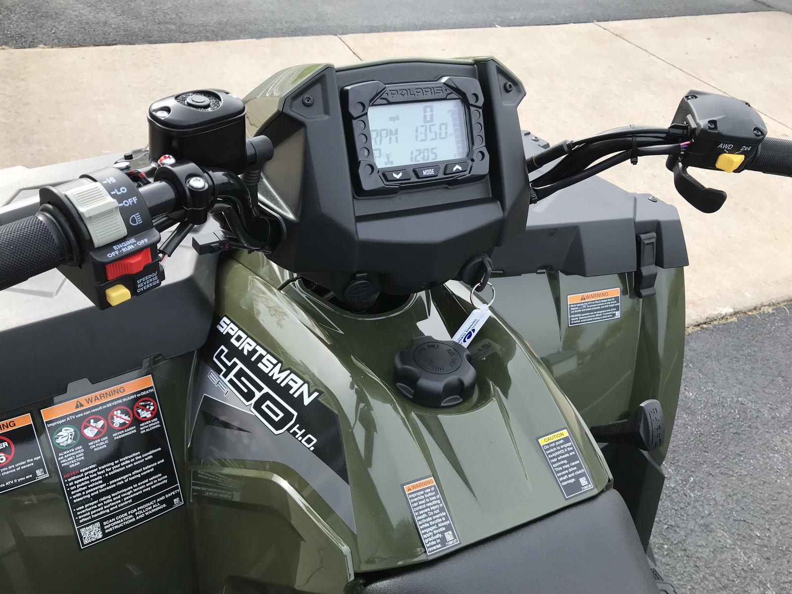 2019 Polaris Industries Sportsman 450 H O  - Sage Green