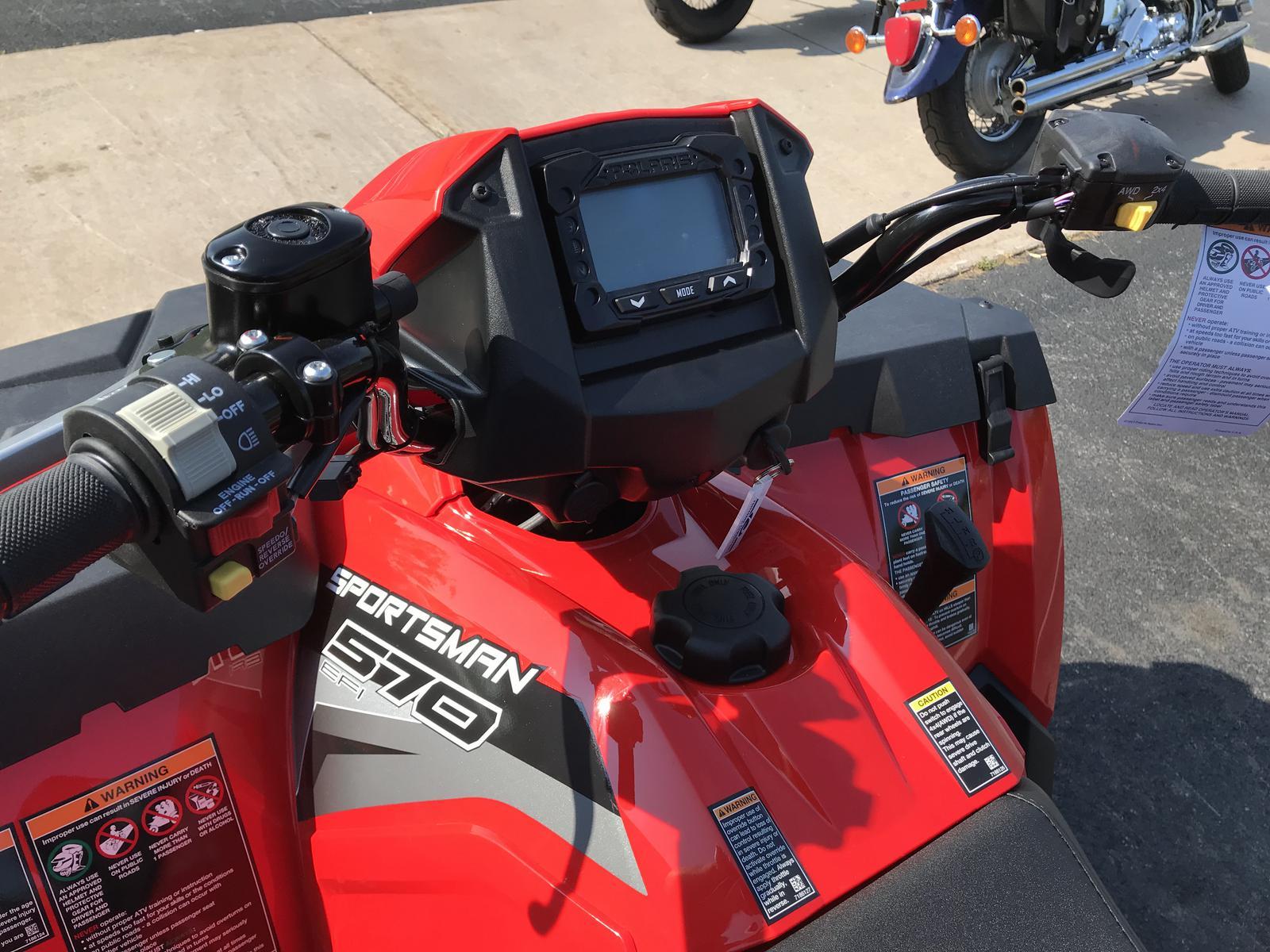 2019 Polaris Industries Sportsman Touring 570 - Indy Red