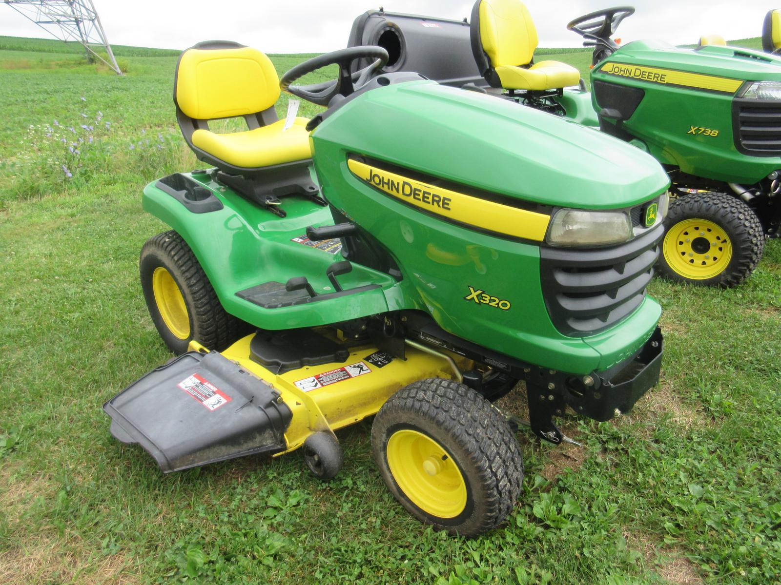 2007 John Deere X320 Tractor for sale in Bangor, PA  Hilltop Sales