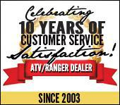 Celebrating 10 years of customer service satisfaction! Since 2003.