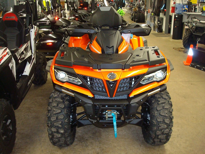2019 CFMOTO CForce 800 XC - Orange