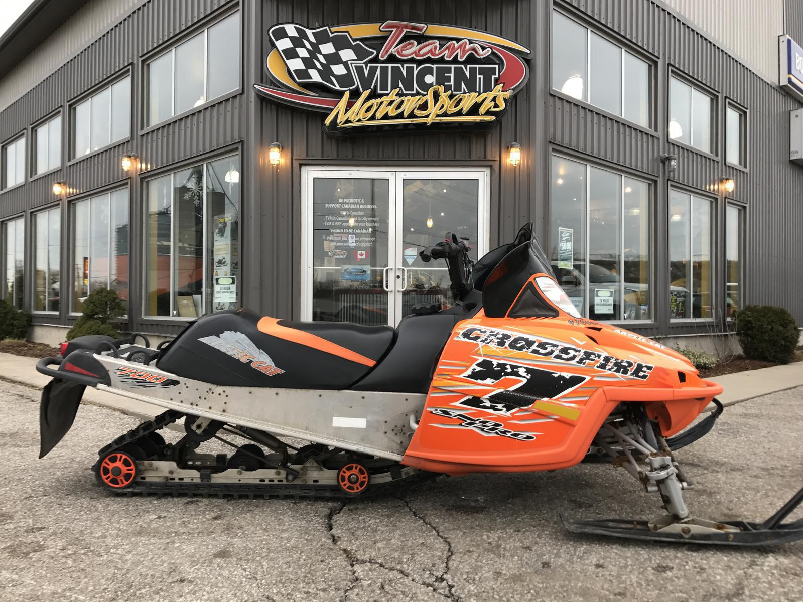 2006 Arctic Cat CROSSFIRE 700 For Sale By Team Vincent Motorsports Inc