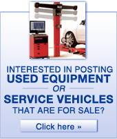 Interested in posting used equipment or service vehicles that are for sale?  Click here.