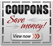 Click here to view our coupons!