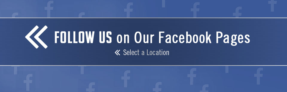 Follow us on our Facebook pages!