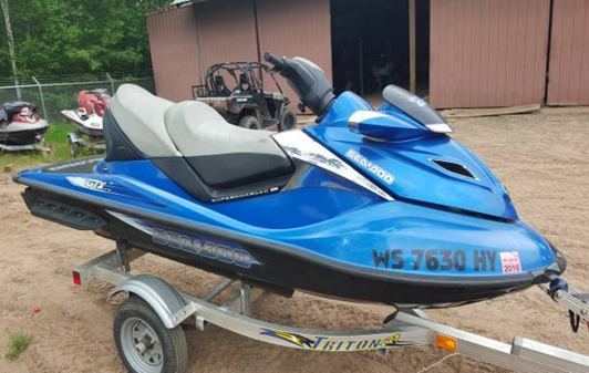 2007 Sea-Doo GTX Supercharged Limited for sale in Webb Lake, WI. The ...