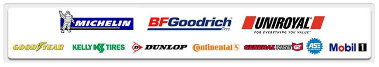 We carry products from Michelin®, BFGoodrich®, Uniroyal®, Goodyear, Kelly, Dunlop, Continental, General, and Mobil 1. Our technicians are ASE certified.