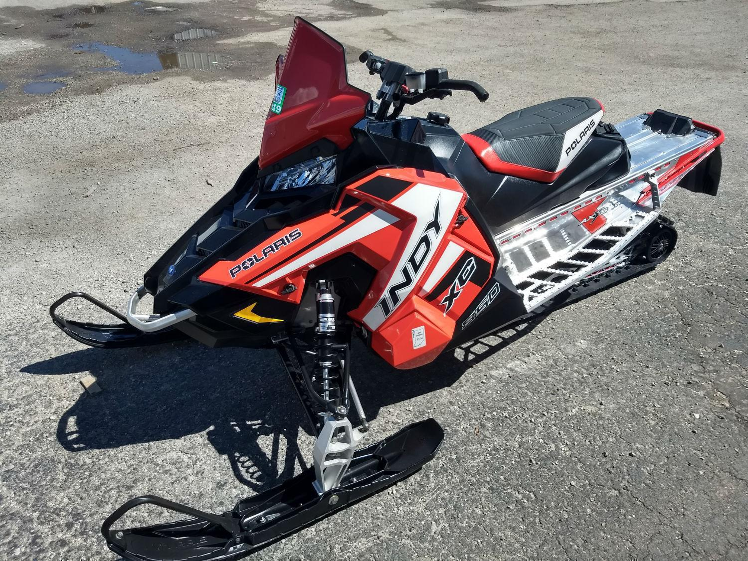 Snowmobile from Timbersled and Polaris Industries Schnelker