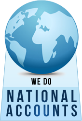 We do national accounts