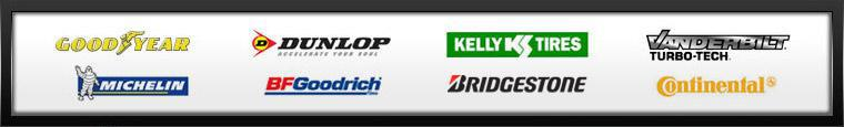 We proudly offer products from Goodyear, Dunlop, Kelly, Mastercraft, Bridgestone, Firestone, and BG Products.