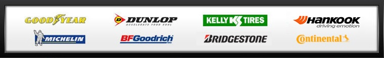 We proudly offer products from Goodyear, Dunlop, Kelly, Mastercraft, Bridgestone, Firestone, Hankook and BG Products.