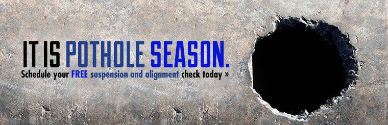 Schedule your free suspension and alignment check today.