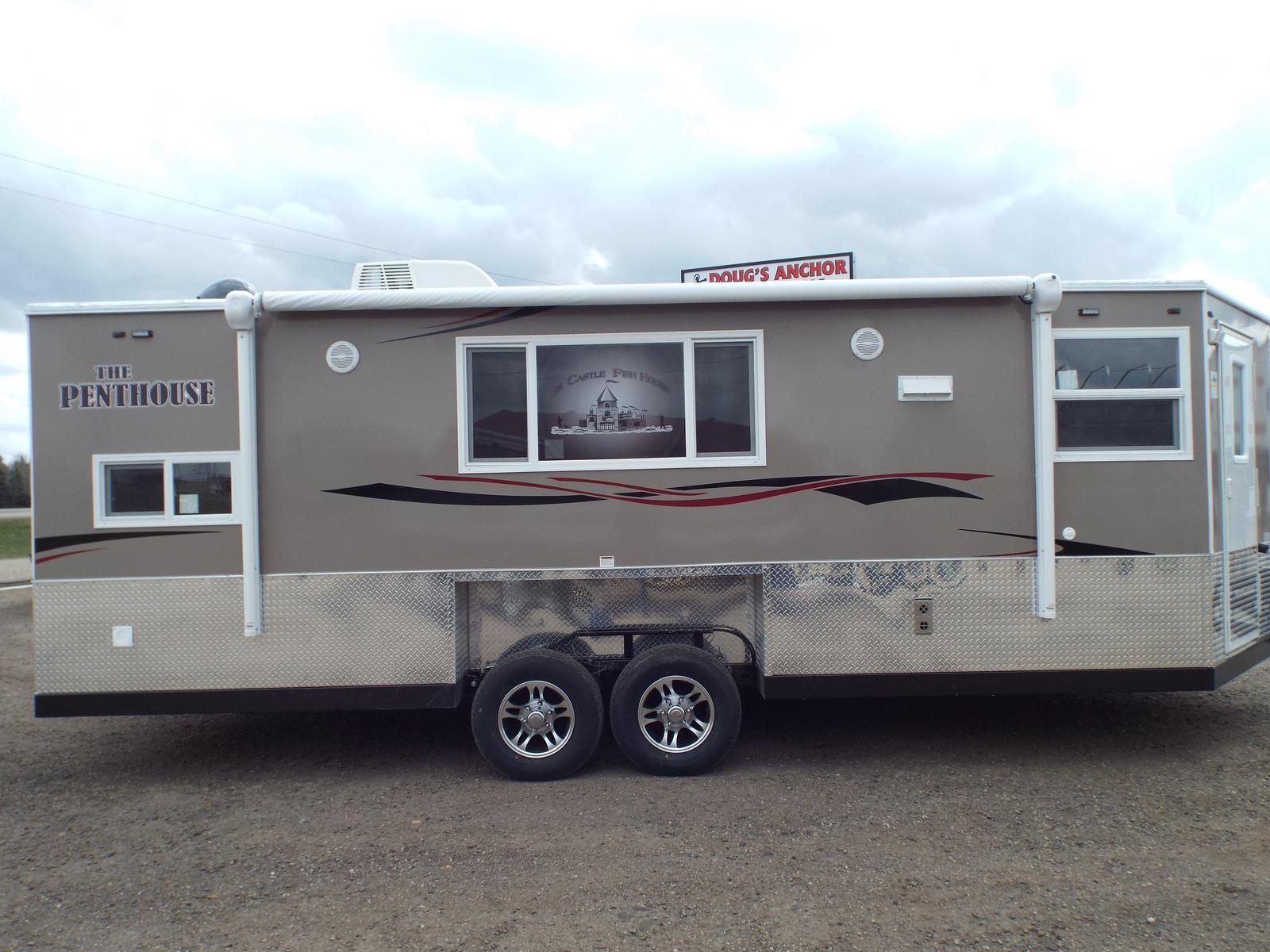 2017 ice castle 8x21v the penthouse - hail damaged for sale in