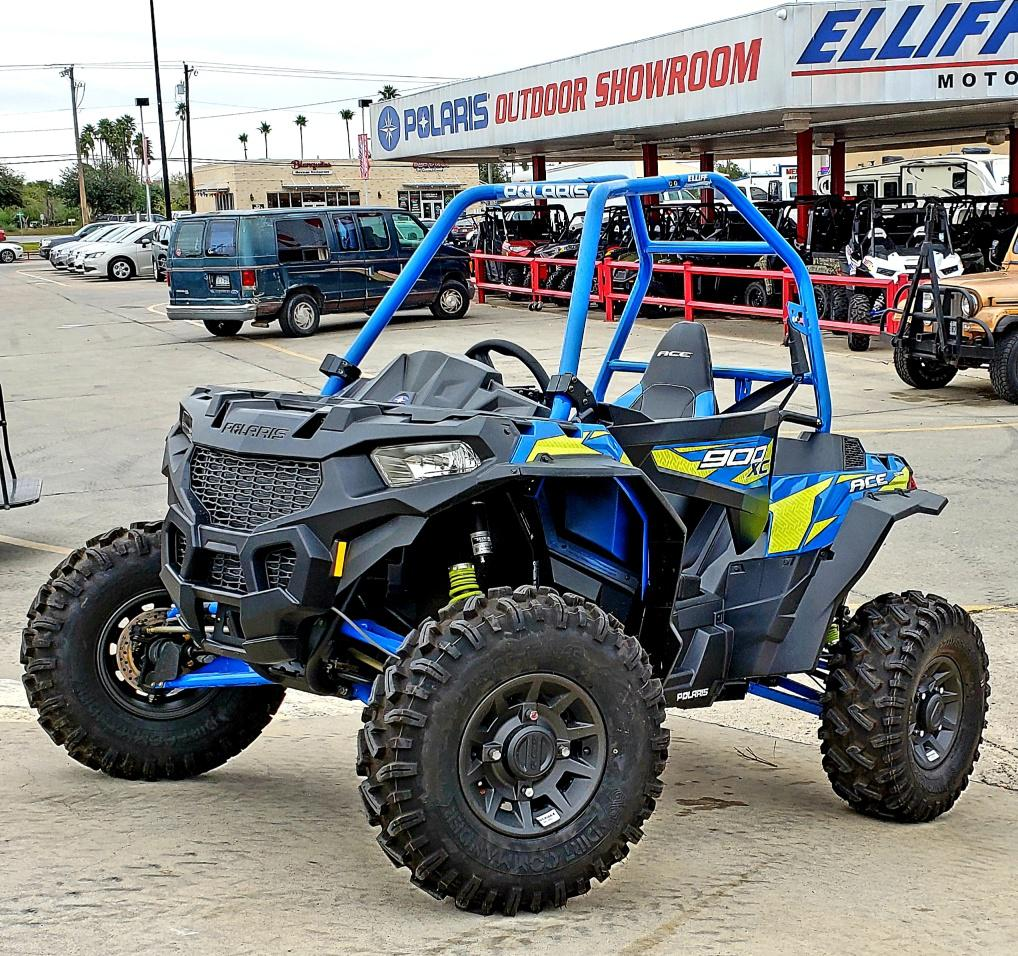 Polaris Ace For Sale >> 2018 Polaris Industries Polaris Ace 900 Xc Velocity Blue