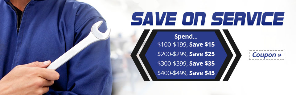 Save on Service: Click here for details!