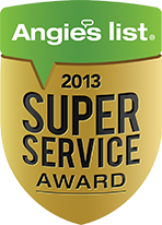 Angies list super services award 2013