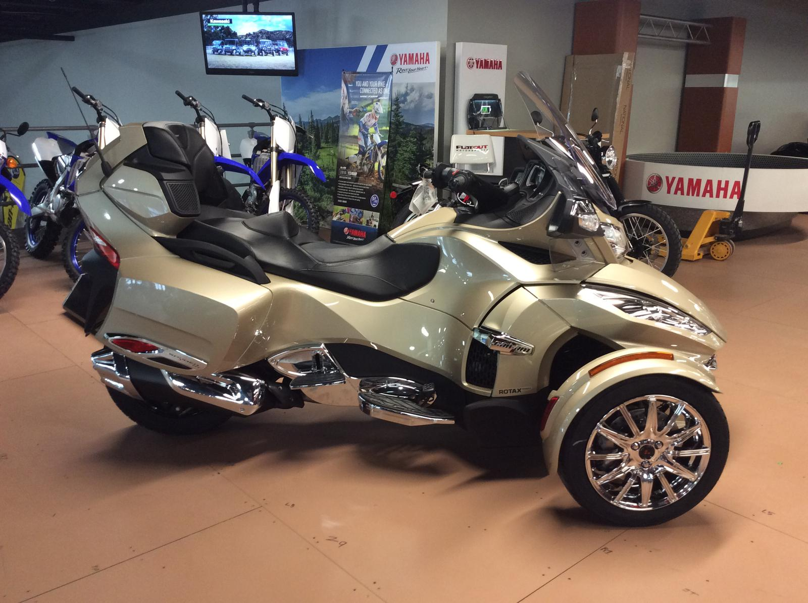 2018 Can Am Spyder RT Limited Chrome Package for sale in