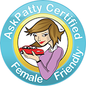 AskPatty Certified Female Friendly