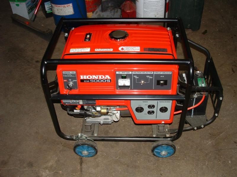 Honda Power Equipment EM5000SX on