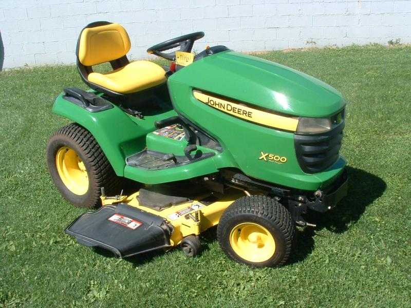 John Deere Lawn Mowers For Sale >> 2010 John Deere X500 Multi Terrain Tractor 48 In Deck