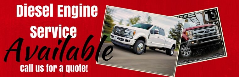 Diesel engine service is available! Click here to schedule an appointment.