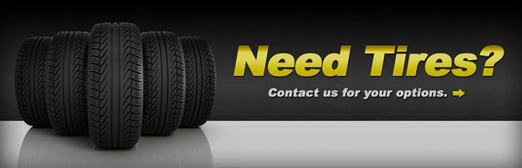 Contact us for tire options.
