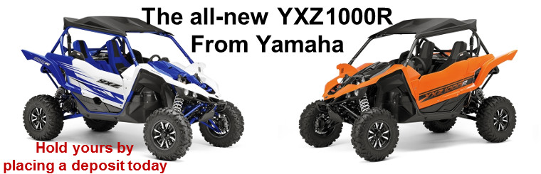 Come in find out about the new YXZ1000R