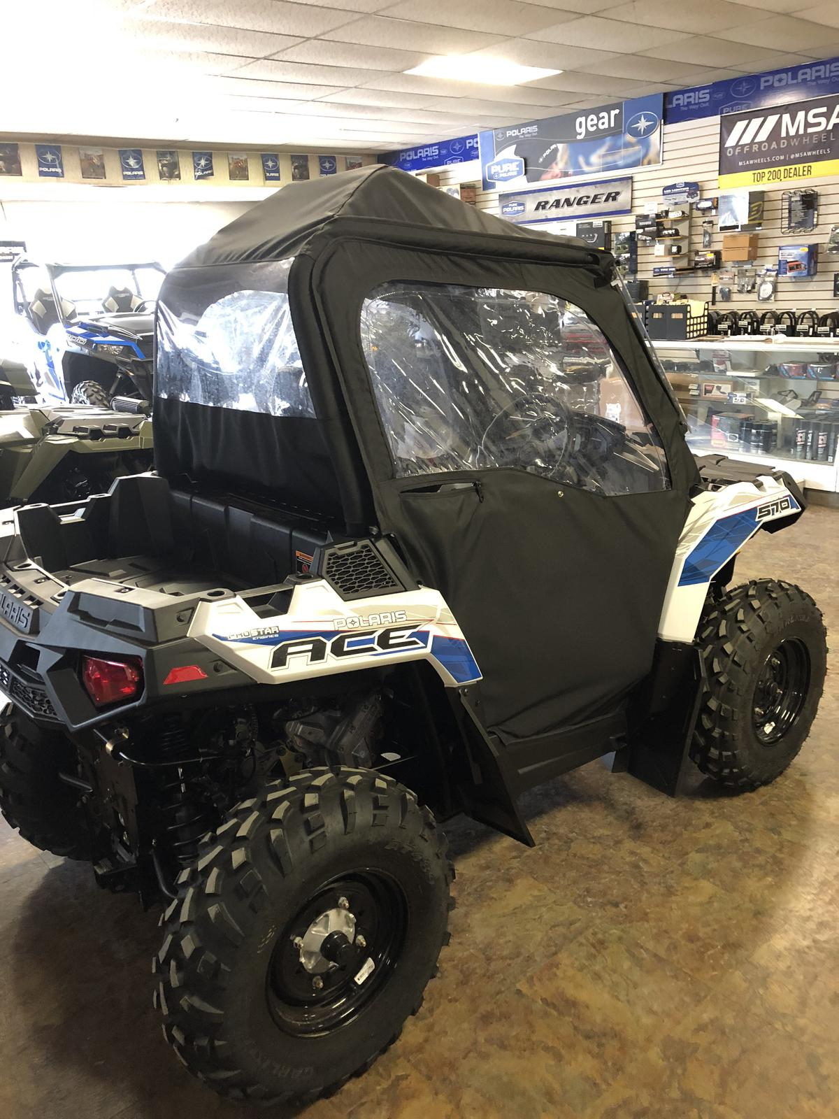Polaris Ace For Sale >> 2018 Polaris Industries Polaris Ace 570 Eps White Lightning