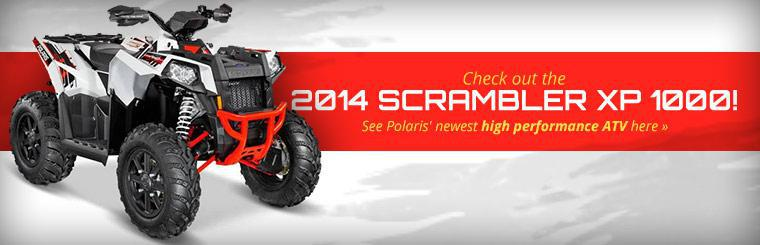 View the 2014 Polaris Scrambler XP 1000.