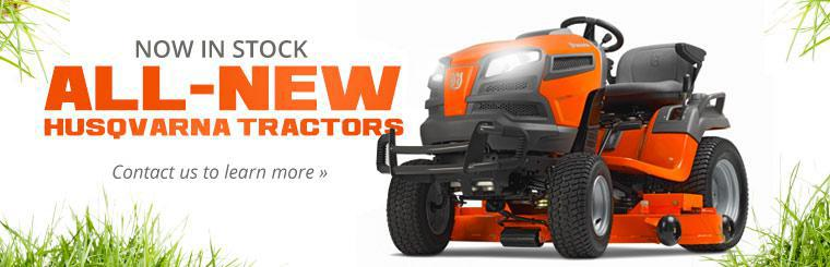 All-New Husqvarna Tractors Now in Stock: Contact us to learn more!
