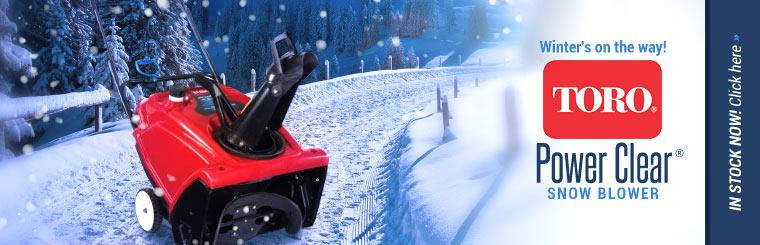 Toro Power Clear® Snow Blower: Click here to view the model.