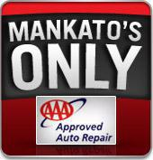 Mankato's Only AAA Top Shop Repair Facility