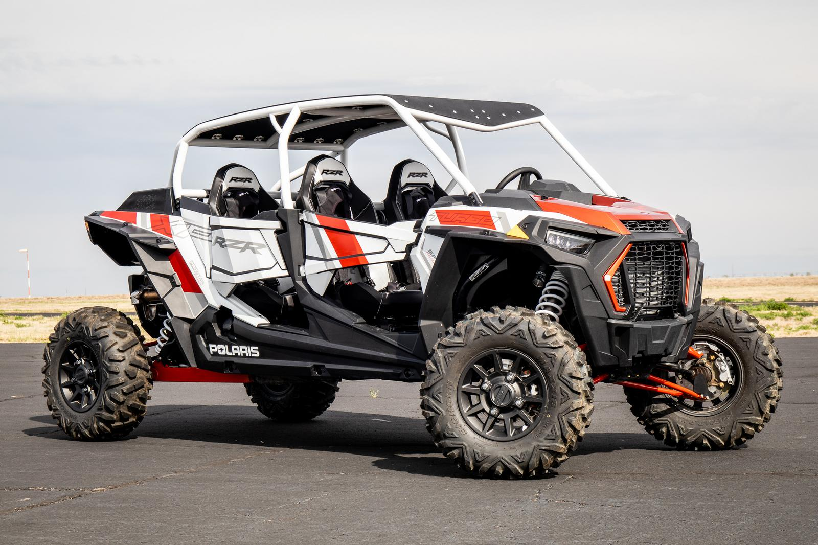 2019 Polaris Industries RZR-19,TURBO4,PS,MT WHT PRL for sale in