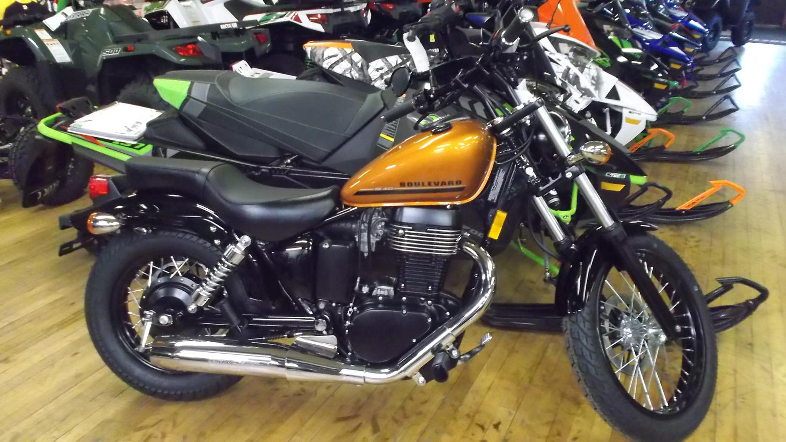 2017 suzuki boulevard s40 for sale in hughesville, pa. ye olde