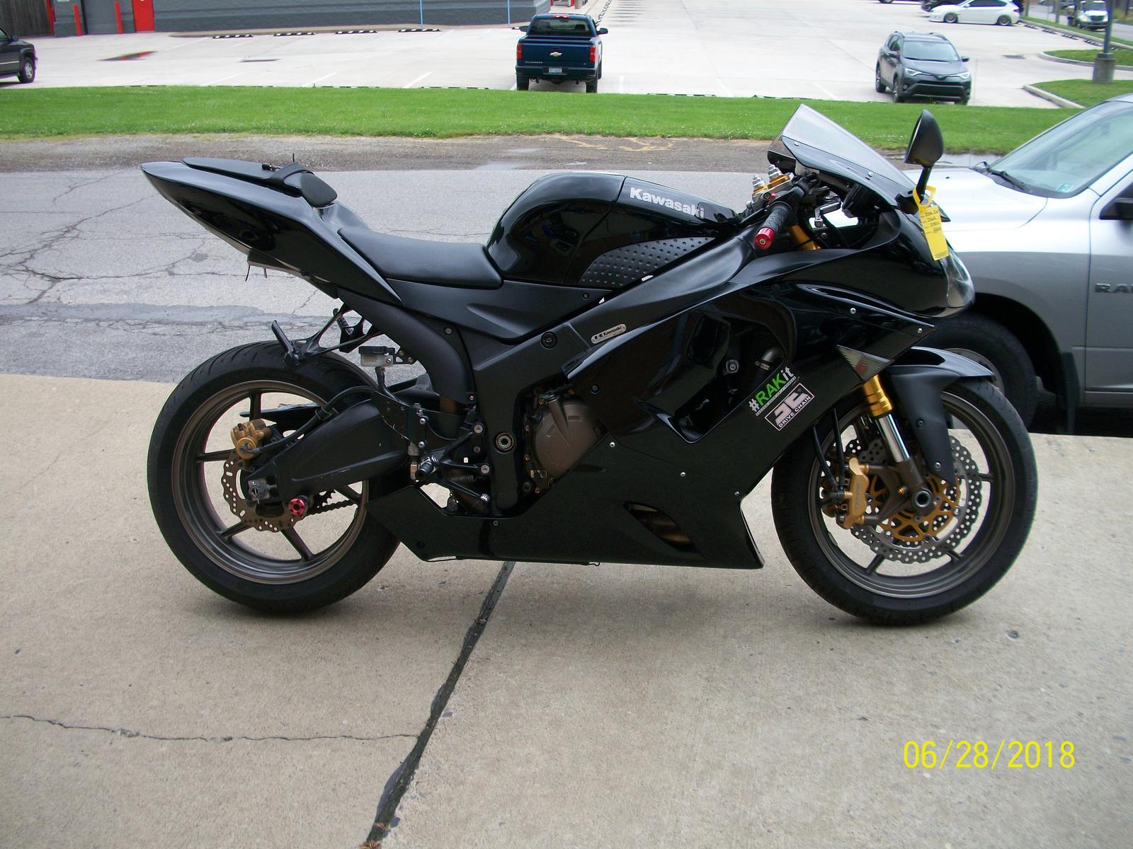 2006 Kawasaki ZX6R for sale in New Castle, PA. Sander's Yamaha ...