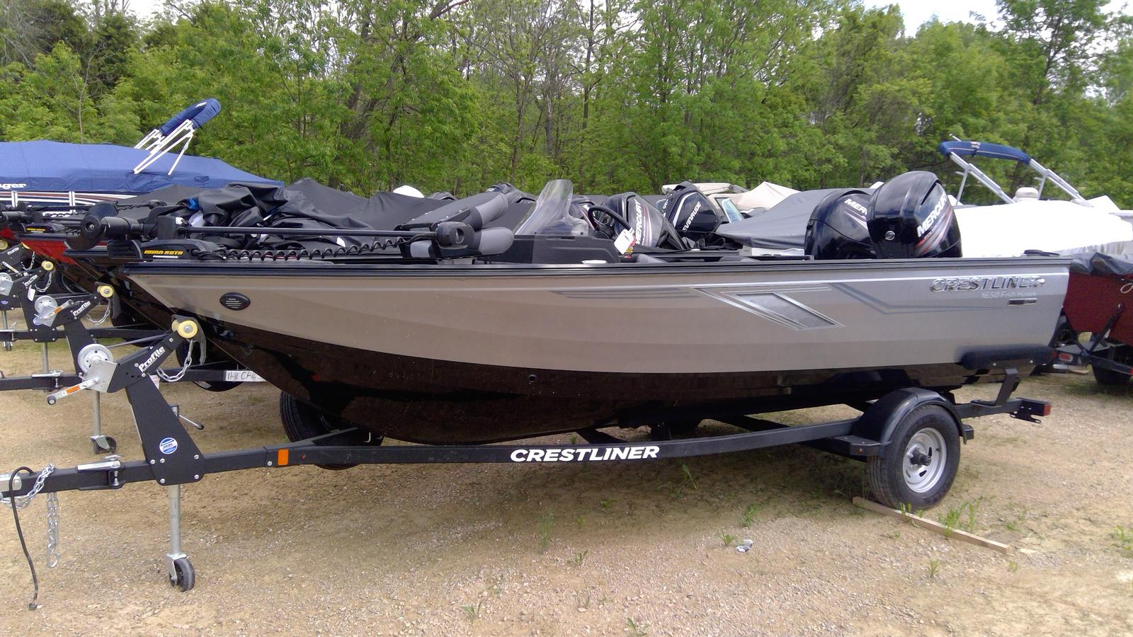 Inventory from Crestliner and Yamaha Quam's Marine & Motor Sports
