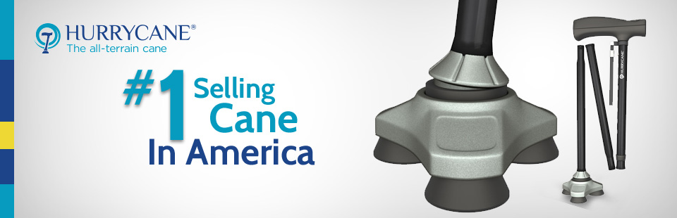 HurryCane: The #1 Selling Cane in America